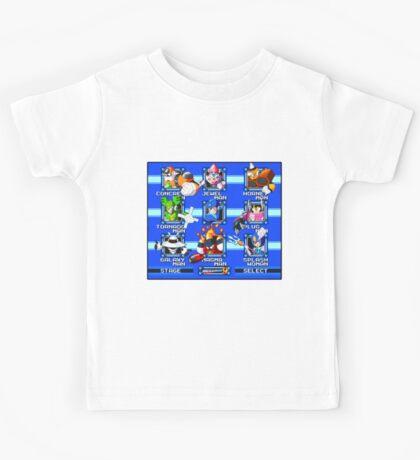 Megaman 9 Bosses Kids Tee