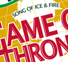 Game of Thrones - Canada Dry Sticker