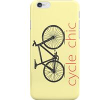 Cicle Chic iPhone Case/Skin