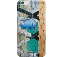 Lozenge Fence iPhone Case/Skin