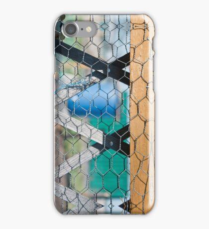 Lozenge Fence iPhone Case/Skin