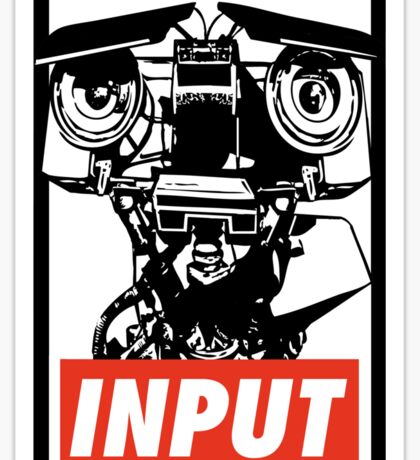 Obey Johnny 5 Sticker
