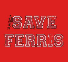 Save Ferris (red) One Piece - Short Sleeve