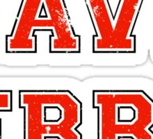 Save Ferris (red) Sticker