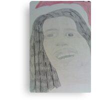 Bob Marley Santa Canvas Print