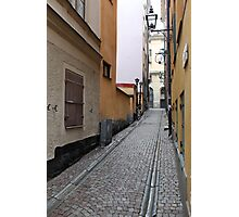 Stockholm old town Photographic Print