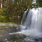 Rainbow by Majestic Falls by DArthurBrown