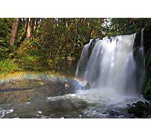 Rainbow by Majestic Falls Photographic Print