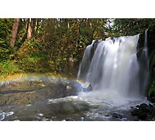 Rainbow by Majestic Falls Photographic Print