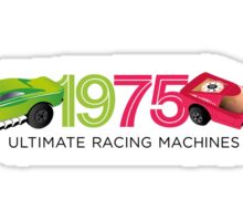 1975 Racers (minimal) Sticker