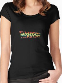 Swag from the future  Women's Fitted Scoop T-Shirt