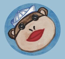 Monkey Sailor One Piece - Short Sleeve