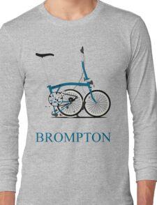 Brompton Folding Bike Long Sleeve T-Shirt
