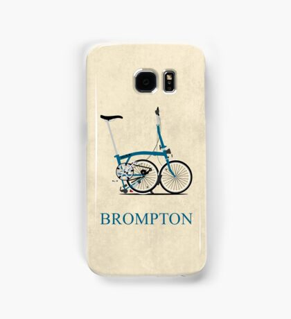 Brompton Folding Bike Samsung Galaxy Case/Skin