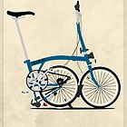 Brompton Folding Bike by Andy Scullion