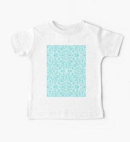 Floral abstract background Baby Tee