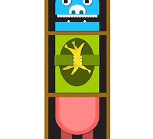 totem pole by Alii Marie