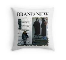 The Devil And God Are Raging Inside Me Throw Pillow