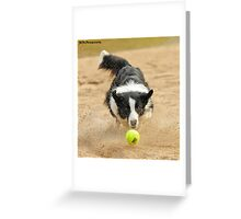 Eye on the ball Greeting Card