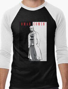 Omar Comin' Men's Baseball ¾ T-Shirt