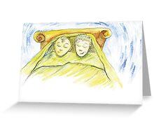 Dreaming of Ska City Greeting Card