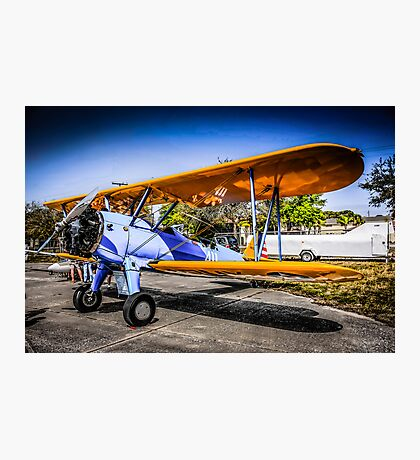 WWII US Army Air Corp PT-17 Steerman training Plane Photographic Print