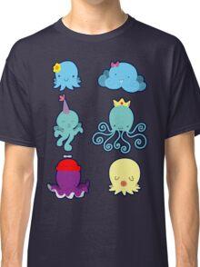 Six Cute Little Octopus Classic T-Shirt