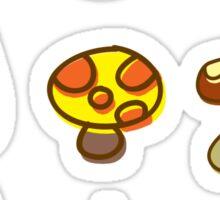 Cute Autumn Design Sticker