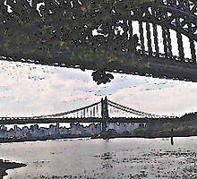 New York City Bridges by Almdrs