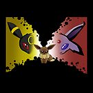 dark side of the eevee by mascheratore