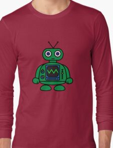 Mini Robot Long Sleeve T-Shirt
