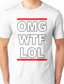 OMGWTFLOL Unisex T-Shirt