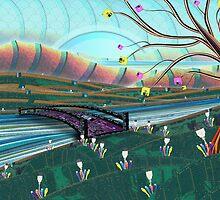 Technoscape by SRowe Art