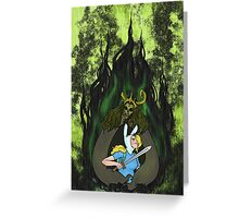 FIONNA AND THE LICH #1 Greeting Card
