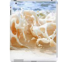 sea foam. iPad Case/Skin