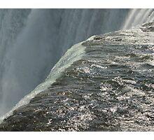 Waterfall Back Photographic Print