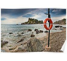 Isola Bella, Taormina Poster