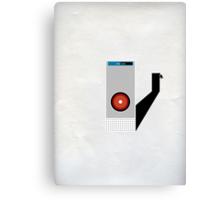 Hal 9000 Minimalist Monkey Canvas Print
