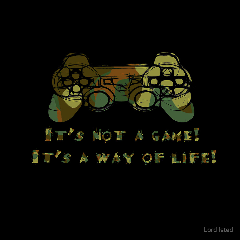 It's not a game camo by Lord Isted