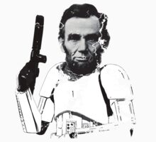 Abraham Lincoln Stormtrooper (without text) Kids Clothes