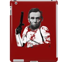 Abraham Lincoln Stormtrooper (without text) iPad Case/Skin