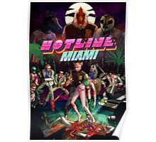 Hotline Miami Cover Poster