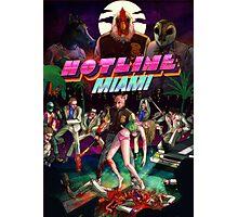 Hotline Miami Cover Photographic Print