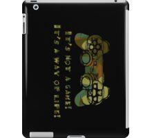 It's not a game camo iPad Case/Skin