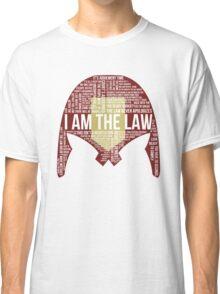 Judge Dredd Typography Classic T-Shirt