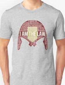 Judge Dredd Typography T-Shirt