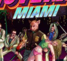 Hotline Miami Cover Sticker