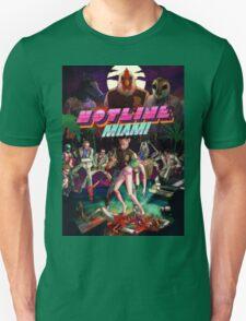 Hotline Miami Cover Unisex T-Shirt