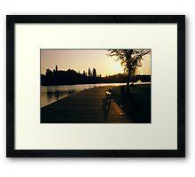 Horlack park Edmonton Framed Print