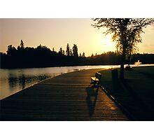 Horlack park Edmonton Photographic Print